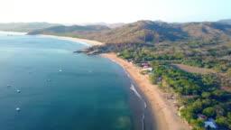 Beach Aerial Pacific Ocean Fine Sand