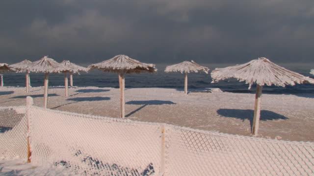 beach and blizzard