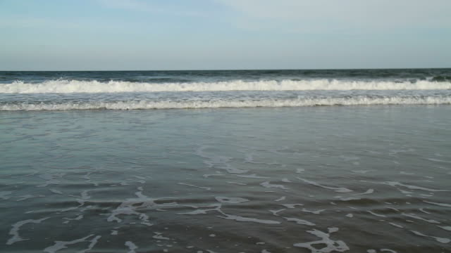 beach and waves - carolina beach stock videos & royalty-free footage