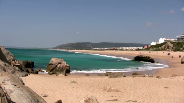 beach at cadiz - cádiz stock videos and b-roll footage