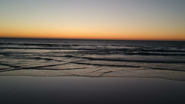 beach at sunset - seascape stock videos & royalty-free footage