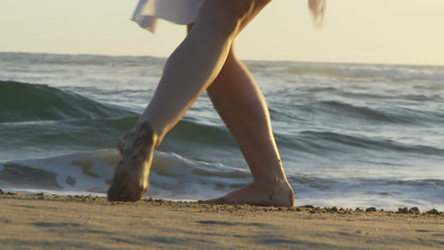 beach ballet - low section stock videos & royalty-free footage