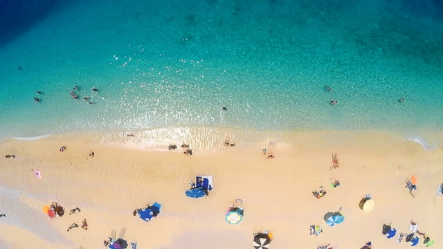 beach from above - summer stock videos & royalty-free footage