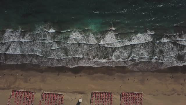 beach front, maspalomas, gran canaria, spain - grand canary stock videos & royalty-free footage