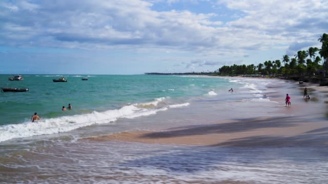 beach in bahia, brazil - latin american culture stock videos & royalty-free footage