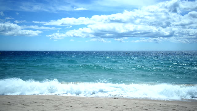 beach in cannes - cannes stock videos & royalty-free footage
