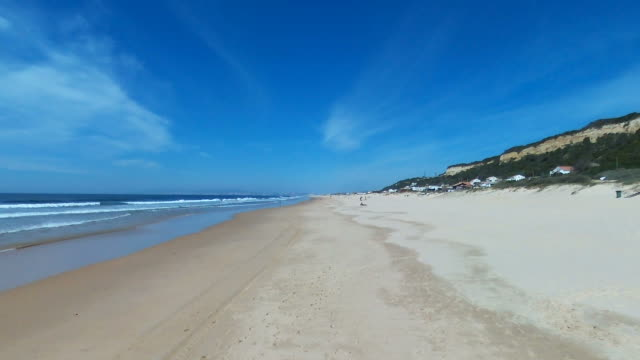 beach in portugal - traditionally portuguese stock videos & royalty-free footage