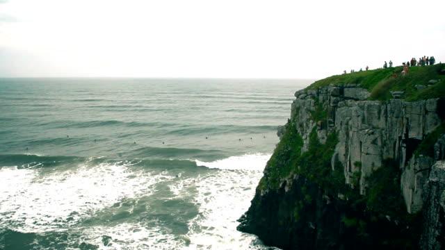 beach in south brazil - stato di rio grande do sul video stock e b–roll