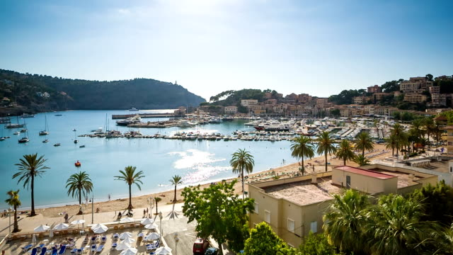Beach lifestyle of Port de Soller - Majorca