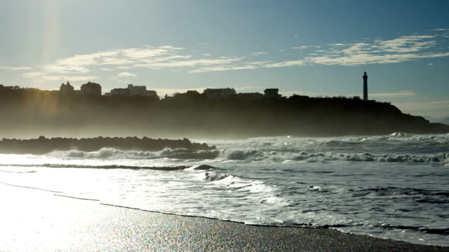 Beach of Anglet near Biarritz