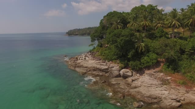 beach of phuket, thailand - phuket stock videos & royalty-free footage