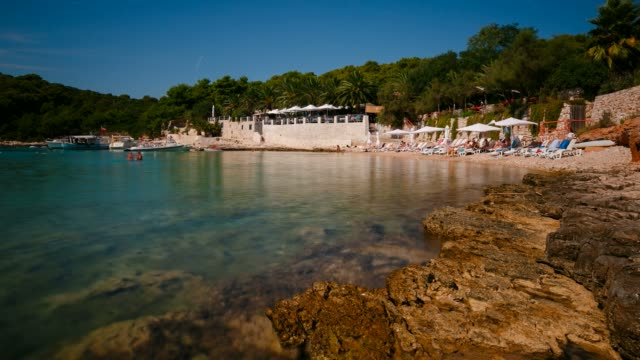 Beach on Island Hvar, Croatia