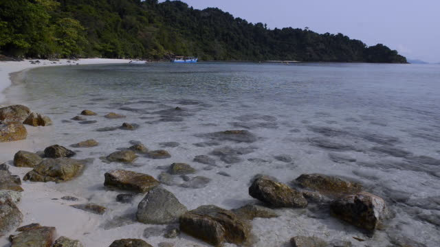 beach on kho chang island, thailand - koh chang stock videos and b-roll footage