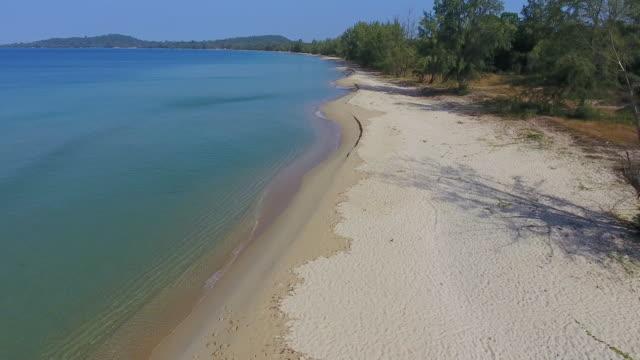 beach on phu quoc island, vietnam - vietnam stock-videos und b-roll-filmmaterial