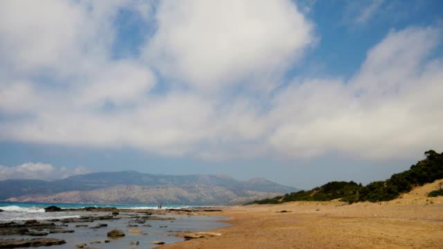 Strand auf der Insel Rhodos in Griechenland