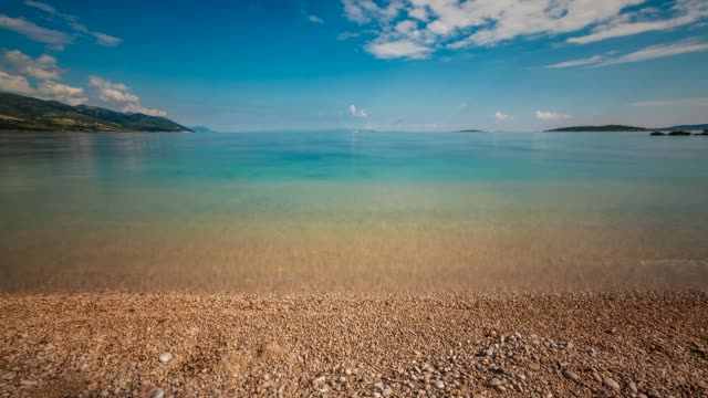 Beach on the Island Peljesac, Dalmatia, Croatia