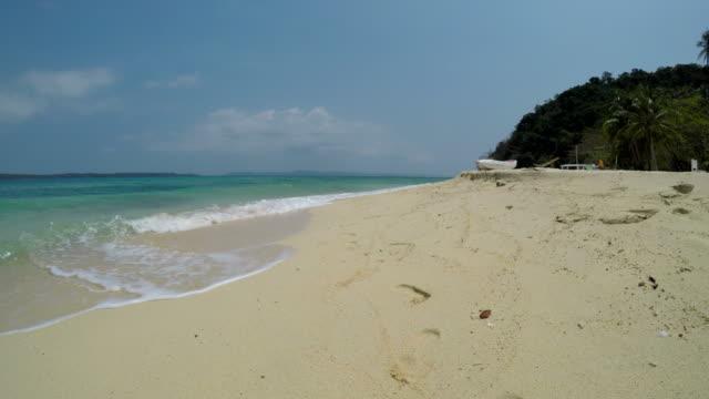 Beach on Tropical Islands in Summer Season