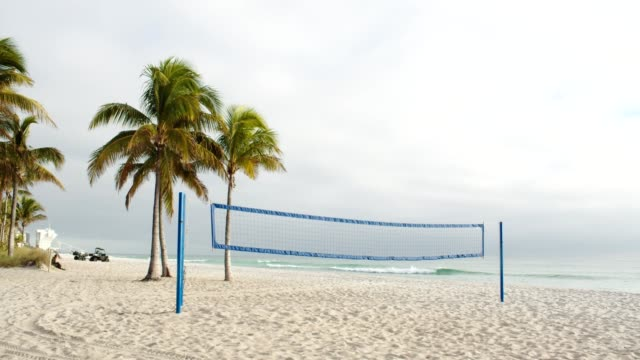 beach volleyball net - volleyball net stock videos & royalty-free footage