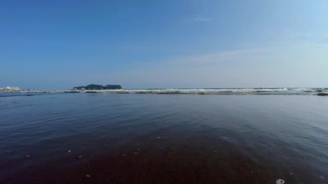 beach with Enoshima