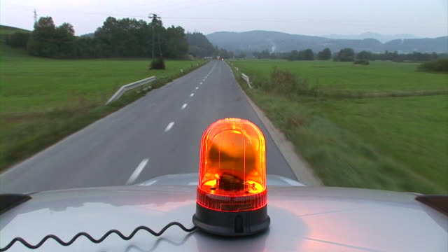 hd: beacon light - police car stock videos & royalty-free footage