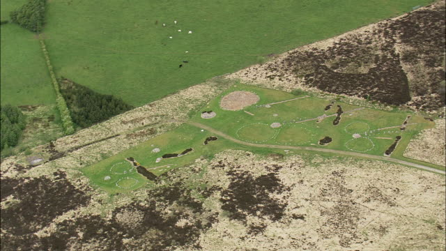 beaghmore stone circles - obelisk stock videos & royalty-free footage
