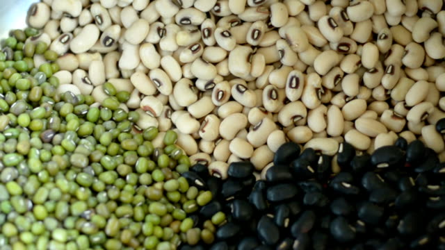 beans cooking - legume family stock videos and b-roll footage