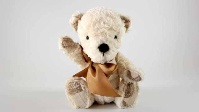 bear toy - doll stock videos & royalty-free footage
