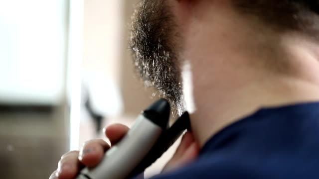 Beard gently shaving
