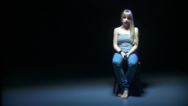 hd: beaten girl all alone - victim stock videos and b-roll footage