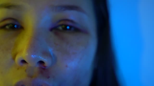 beaten woman - domestic violence stock videos & royalty-free footage