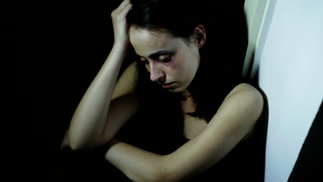 beaten young woman - sexual violence stock videos & royalty-free footage