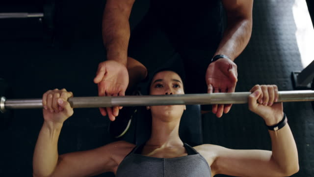 beating the stereotype that women don't lift - instructor stock videos & royalty-free footage