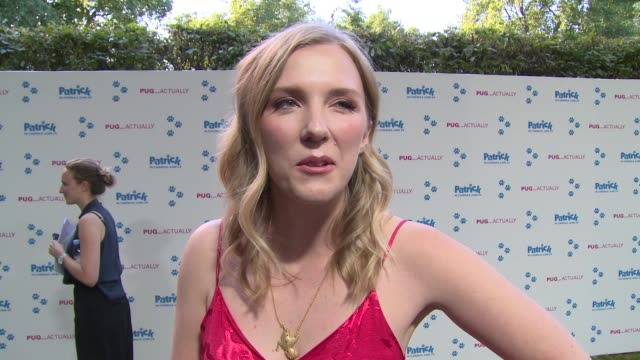 beattie edmondson on getting the role, working with animals and mums on june 27, 2018 in london, england. - working animals stock videos & royalty-free footage