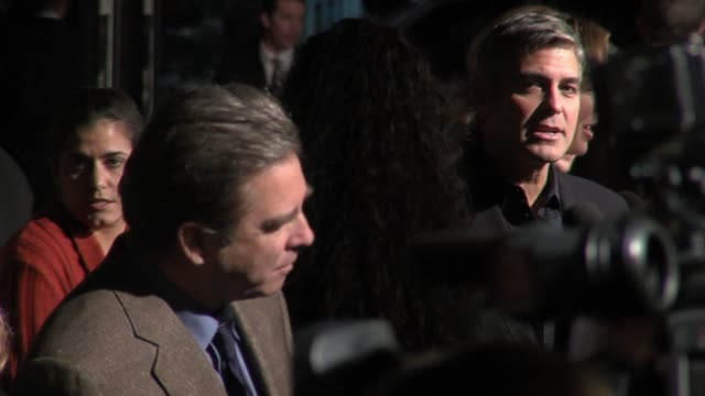 Beau Bridges and George Clooney at the The Good German Los Angeles Premiere at the Egyptian Theater in Hollywood California on December 4 2006