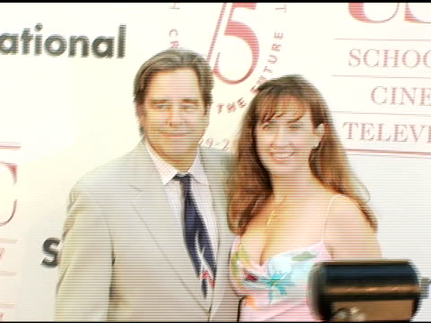 beau bridges and wife wendy at the usc school of film and television's 75th anniversary gala at hobart auditorium in los angeles california on... - 75th anniversary stock videos & royalty-free footage