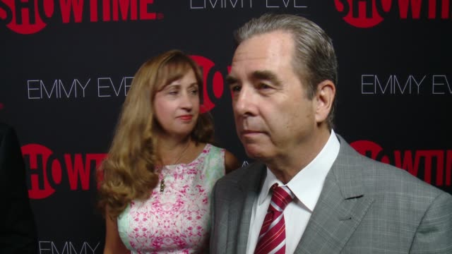 interview beau bridges on what it would mean to him to take home the emmy at showtime emmys eve 2014 on august 24 2014 in los angeles california - エミー賞点の映像素材/bロール