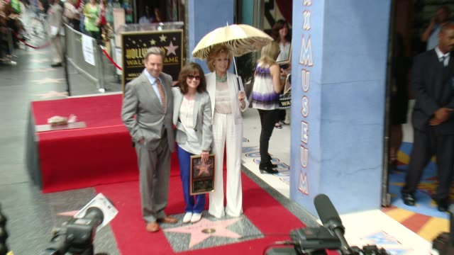 beau bridges sally field jane fonda at sally field honored with star on the hollywood walk of fame at hollywood walk of fame on may 05 2014 in... - sally field stock videos & royalty-free footage