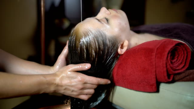 beautification treatment - massage table stock videos & royalty-free footage