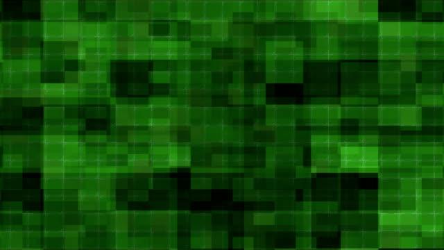 vídeos de stock, filmes e b-roll de os cubos abstratos bonitos looped a animação. fundo sem emenda em 4k ultra hd - mosaico