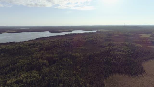 uhd 4k aerial: beautiful aerial scenic clips of alaskan landscape - fatcamera stock videos & royalty-free footage