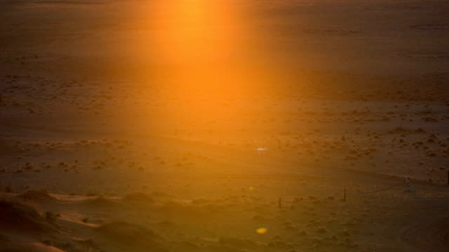 beautiful african savanna. drone pov. sunrise. - brown stock videos & royalty-free footage