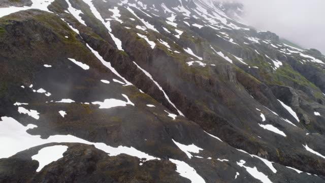 uhd 4k: beautiful alaskan glacier during summer - fuggire video stock e b–roll