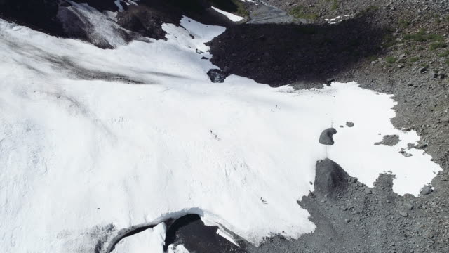 UHD 4K: Beautiful Alaskan glacier during summer