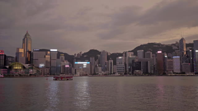 stockvideo's en b-roll-footage met prachtige architectuur gebouw in hong kong city - hong kong