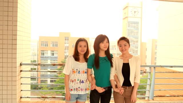 美しいアジアの女の子 - 大学生点の映像素材/bロール