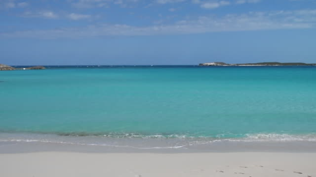 beautiful bahamas beach - bahamas stock videos and b-roll footage