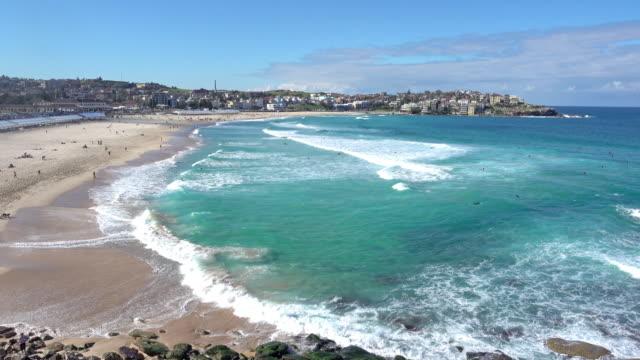 beautiful beach Bondi beach in Sydney, Australia
