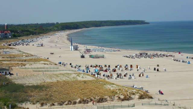 beautiful beach in germany - baltic sea stock videos and b-roll footage
