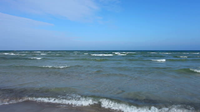 beautiful beach in germany - north frisian islands stock videos & royalty-free footage