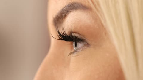 beautiful blue eyes - eyelash stock videos & royalty-free footage
